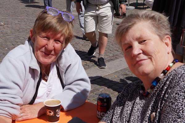 Dorte og Lene, sangere GospelAid 2014
