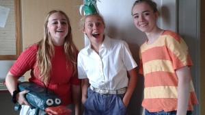 Kildeborg-pigerne kreerer småting til at sælge på markedsdagen