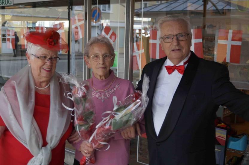Modeshow, Danmission Genbrug i Nørresundby fylder 25 år .