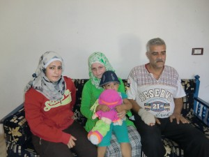 Mr. Abdulmenem and his 3 daughters