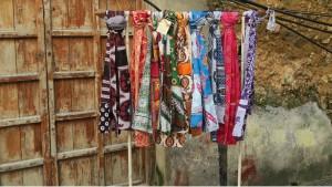 Tørklæder række