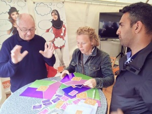 Mette Møbjerg Fasael Rehman Folkemødet 2016